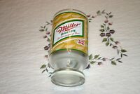 """Vintage Miller High Life """"THE CHAMPAGNE OF BEERS"""" Glass"""