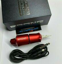 2020 HUMMINGBIRD BRONC V9 CLICK GRIP tattoo pen machine In Red Fast from Az