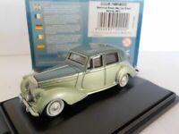 Model Car, Bentley MkVI - Balmoral Green Met/Ice Green, 1/76 New 76bn6002 oxford