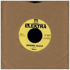 DOORS Unknown Soldier / We Could Be So Good Together ELEKTRA IMPORT 45 RECORD
