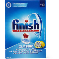 FINISH POWERBALL CLASSIC DISHWASHING DISHWASHER 110 TABLETS LEMON SPARKLE CITRON
