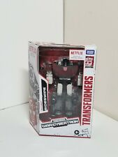 NEW Transformers War For Cybertron Netflix Deluxe Class Sisdeswipe Action Figure