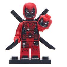 Symbiote Deadpool - Marvel Comics Venom Lego Moc Minifigure Gift For Kids