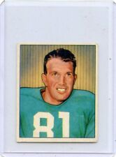 1950 Bowman Football #2 John Greene, Detroit Lions 081219