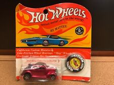 Hot Wheels Redline 1936 Ford Coupe Classic 1969 Rose/Red