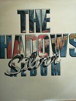 THE SHADOWS - Silver Album .. 1983 Uk Tellydisc Double Lp Ex Near Mint