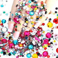 2000PCS Rhinestones Flat Back Resin Diamante Gems Crafts Nail Art Wholesale