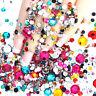 2000pcs/Pack Rhinestones Flat Back Resin Diamante Gems Crafts Nail Art Wholesale