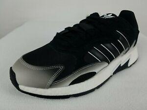 Adidas Boost Tresc Run Running Shoes Size 10 Men's Black White Leather EG7394