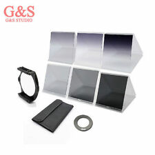 Square Filter Holder+ 62mm ring Adapter+6 pcs filters for Cokin P Series kit