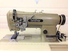 New listing Brother 2 Ndl Split Bar 1/4 Reverse Big Bobbins 110V Industrial Sewing Machine