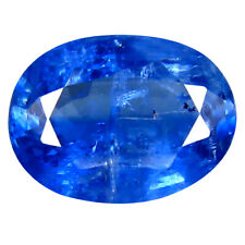 2.35 ct AA+ Super-Excellent Oval Shape (10 x 7 mm) Blue Kyanite Natural Gemstone