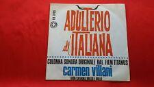 Disco 45 giri -  CARMEN VILLANI - Bada caterina - Colonna sonora - 1966 raro