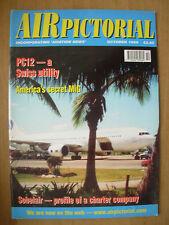 AIR PICTORIAL MAGAZINE OCTOBER 1999 SWISS PILATUS PC-12 - SOBELAIR BOEING 767