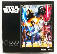 Star Wars Buffalo 1000 Pcs. Jigsaw Puzzle Disney Photomosaics Collection BNFS