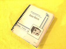 NEW MOTOROLA R1200A OPERATION AND SERVICE MANUAL COPY COMPLETE