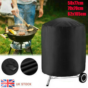 Waterproof Round Kettle BBQ Grill Barbecue Cover Protector Outdoor Garden Patio