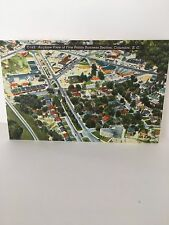 Airplane View of Five Points Business Section, Columbia, SC - Linen - PC