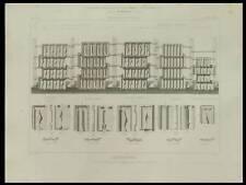 TUILES RECTANGULAIRES - PLANCHE 1861 - GUEVEL GILARDONI FRANON BOULET LIEFQUINT