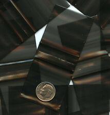 100 Black Apple Baggies 15 X 15 In Mini Zip Bags 1515 Reclosable Plastic