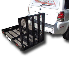 500# WHEELCHAIR CARRIER LOADING RAMP:MOBILITY SCOOTER ELECTRIC TRAILER HITCH 400