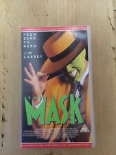 The Mask (1996, VHS) Pre-owned
