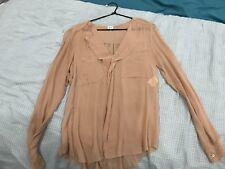 Aritzia T Babaton Silk Shirt New Size 8