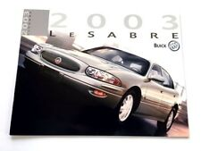 2003 Buick LeSabre 20-page Original Car Canada Sales Brochure Catalog