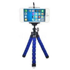 Blue Sponge Tripod Stand Mount Holder For Samsung Galaxy S8 iPhoneX XR MOTO G6