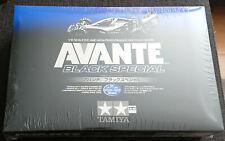 Tamiya RC Avante 2011 Black Special 47390 NEU NEW NIB RAR Vintage + Bonus Parts