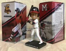 "2018 MISSISSIPPI BRAVES RONALD ACUNA JR. ""FEAR the CHOP"" SGA BOBBLEHEAD ~ NIB"