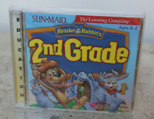 NIP ~ NEW ~ THE LEARNING COMPANY * READER RABBIT'S 2ND GRADE * CD-ROM SOFTWARE