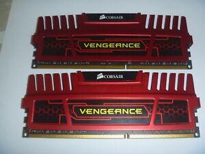 Corsair Vengeance 8GB (2x4GB) RAM Memory Desktop PC3-12800 DDR3-1600 CL9
