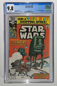 Star Wars #40  CGC 9.8 1980 White Pages
