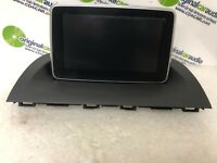 2014 2015 2016 Mazda 3 OEM Info GPS Display System Monitor