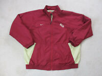 Nike Florida State Seminoles Jacket Adult Extra Large Red Gold FSU Coat Men 90s*