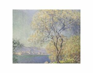 "MONET CLAUDE - ANTIBES, 1888 - ART PRINT POSTER 11""X14"" (1686)"