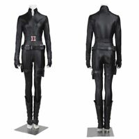 New the Avengers Natasha Romanoff Black Widow Cosplay Costume