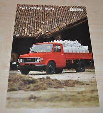 FIAT 616 Truck Brochure Prospekt FR