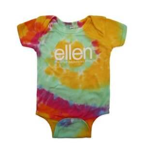 The Ellen Degeneres TV Show Tye Tie Dye Baby One Piece 12 months Body Jump Suit