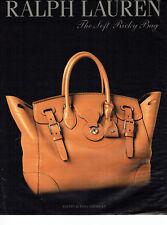 Publicité Advertising 028  2013  Ralph Lauren   the soft Ricky bag maroquinerie