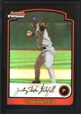 TIM WAKEFIELD 2003 BOWMAN CHROME #31 REFRACTOR RED SOX SP RARE
