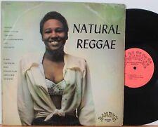 """Natural Reggae"" LP ~ Bamboo 201 ~ DG Mono, UK Press ~ Heptones ~ Jackie Mittoo"