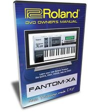 Roland Fantom-Xa DVD Video Training Tutorial Help