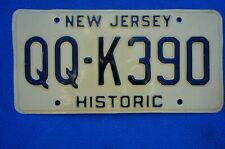 New listing Vintage New Jersey Historic License Plate mid 70's