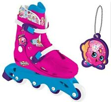 Shopkins M01888 In Line Skates with Keychain NEW/BOXED/FREE UK POSTAGE