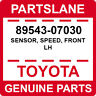 89543-07030 Toyota OEM Genuine SENSOR, SPEED, FRONT LH