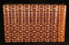 1891-93 9vols SHAKESPEARE Works Cambridge Ed WRIGHT