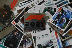 Topps F1 FORMULA 1 Season 2021 Album Stickers <choose> 1-232 Single sticker