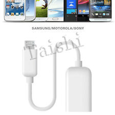 Micro USB Male to USB Female Converter OTG Adap Smartphones Data cable charging